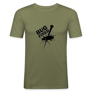 Bug Fixed - slim fit T-shirt