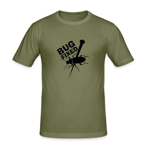 Bug Fixed - slim fit T-shirt