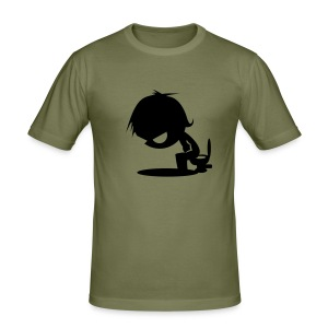 comic_01 - slim fit T-shirt