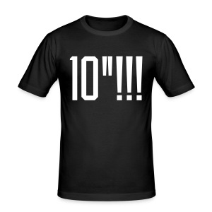 10 inches tee - Men's Slim Fit T-Shirt