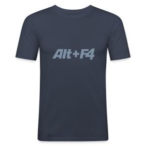 Hanes Fit T alt + f4 - Men's Slim Fit T-Shirt