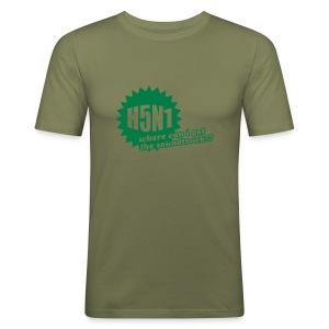 H5N1 - Slim Fit T-skjorte for menn
