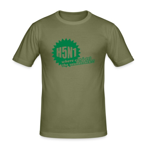 H5N1 - Slim Fit T-skjorte for menn