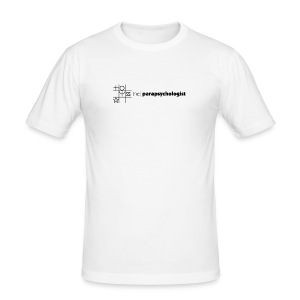 theParapsychologist T shirt - Men's Slim Fit T-Shirt