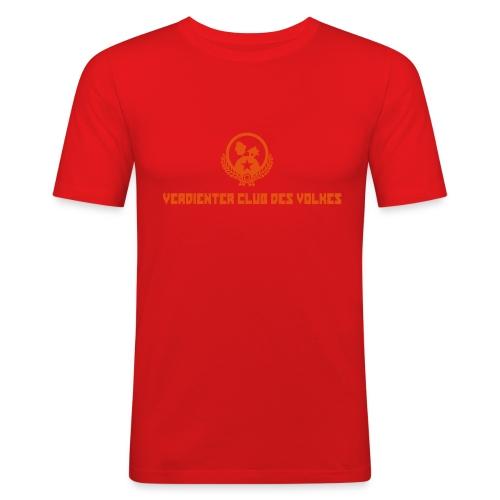 NEU! STAMMHEIM: Verdienter Club Original - Männer Slim Fit T-Shirt