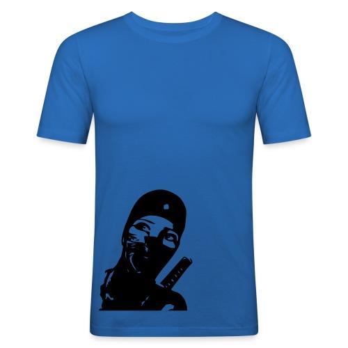 ninja woman - Men's Slim Fit T-Shirt