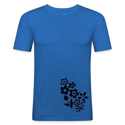 flowers - Men's Slim Fit T-Shirt