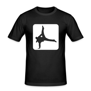 Breakdancer tee - Men's Slim Fit T-Shirt