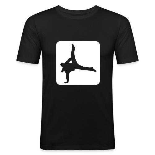 Breakdancer tee - Men's Slim Fit T-Shirt