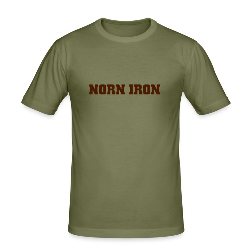 Camel Norn Iron Hanes Fit-T - Men's Slim Fit T-Shirt
