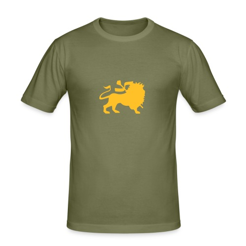 King lion - T-shirt près du corps Homme