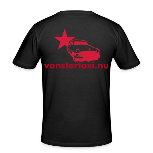 vanstertaxi - Men's Slim Fit T-Shirt