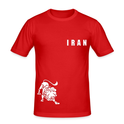 Slim Fit IRAN - Männer Slim Fit T-Shirt