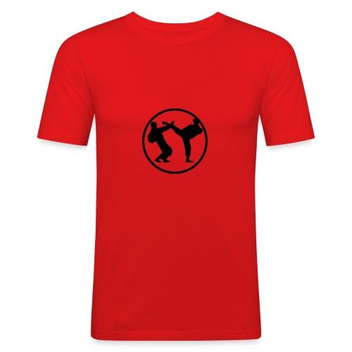 Karate Battle - Men's Slim Fit T-Shirt