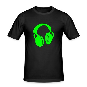 Music is my life Green - slim fit T-shirt