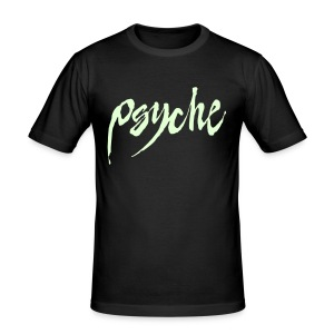 Glow In The Dark Psyche - Men's Slim Fit T-Shirt