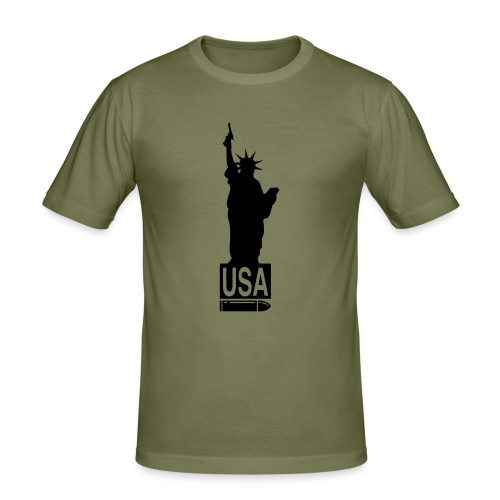 USA - slim fit T-shirt