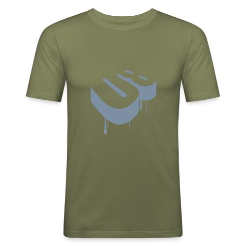 T shirt Hanes 08 Olive - T-shirt près du corps Homme