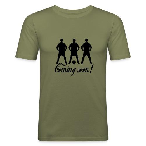 Coming Soon - Männer Slim Fit T-Shirt