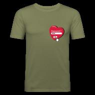 Tee shirts ~ Tee shirt près du corps Homme ~ Tshirt de chasteté (recto)