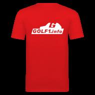 T-Shirts ~ Männer Slim Fit T-Shirt ~ Artikelnummer 3095458