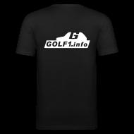 T-Shirts ~ Männer Slim Fit T-Shirt ~ Artikelnummer 3095455