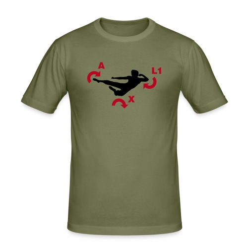 'Fighter' Tee - Men's Slim Fit T-Shirt