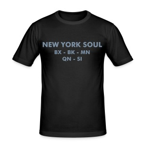 New York Boroughs - Men's Slim Fit T-Shirt