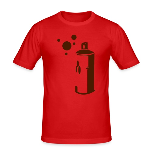 SPRAY-CAN - Men's Slim Fit T-Shirt
