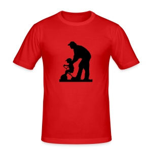 father_son - Men's Slim Fit T-Shirt