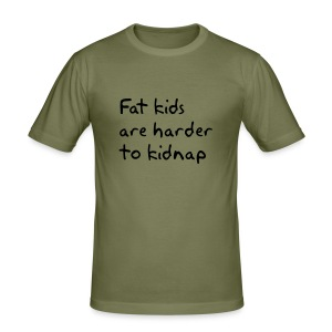 Fat Kids Tee - Men's Slim Fit T-Shirt