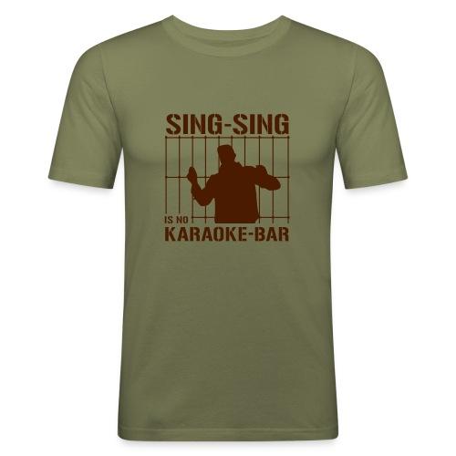 Sing Sing - Men's Slim Fit T-Shirt