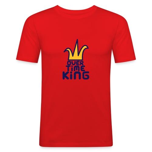 'Over Time King' Mens TShirt - Men's Slim Fit T-Shirt