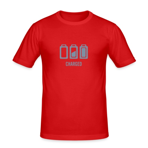 'Charged' Mens TShirt - Men's Slim Fit T-Shirt
