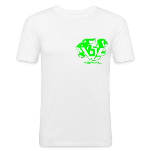 Basic Aerial - Men's Slim Fit T-Shirt
