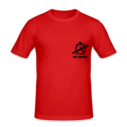 TIME? - Men's Slim Fit T-Shirt