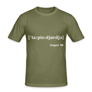 Ungarn-Tour 2006 (olive) - Männer Slim Fit T-Shirt