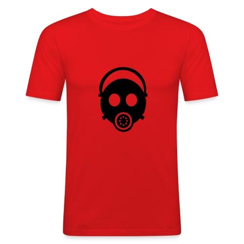gas_mask - Männer Slim Fit T-Shirt