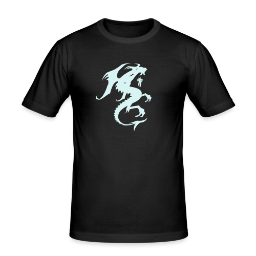 Power Dragon - Men's Slim Fit T-Shirt