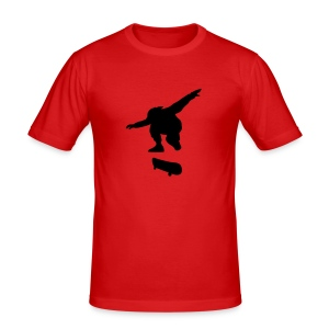 Skate Jump - Men's Slim Fit T-Shirt
