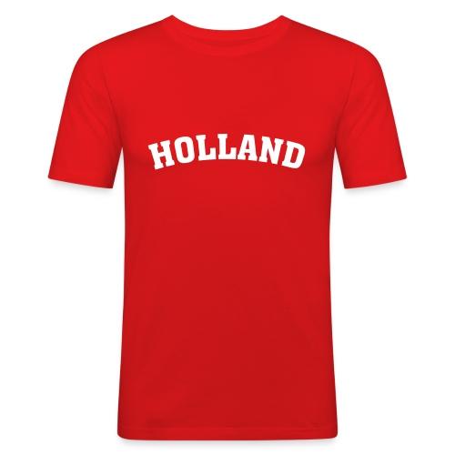Koszulka męska Holland - Obcisła koszulka męska