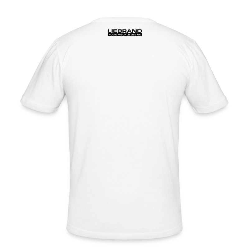 *SL1200 on white Hanes Fit-T - slim fit T-shirt