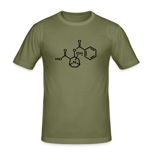 Formula for Cocaine - Men's Slim Fit T-Shirt