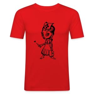 Nurzie - Slim Fit T-skjorte for menn