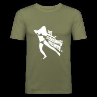 T-Shirts ~ Men's Slim Fit T-Shirt ~ Die Screaming Marianne grey tee