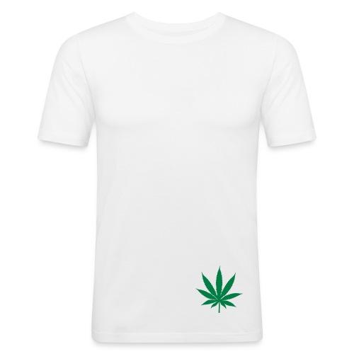 THC Blanc - T-shirt près du corps Homme