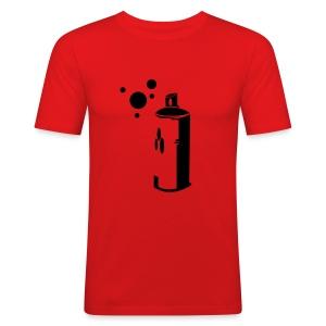 Aerosol - Men's Slim Fit T-Shirt