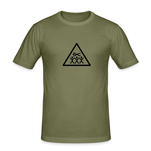crowd surfing - Men's Slim Fit T-Shirt