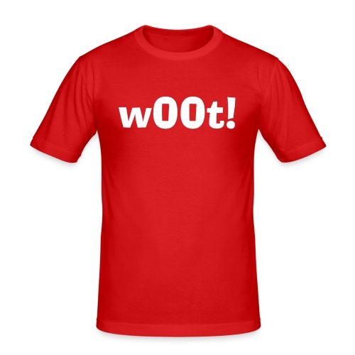 wOOt T Shirt - Men's Slim Fit T-Shirt