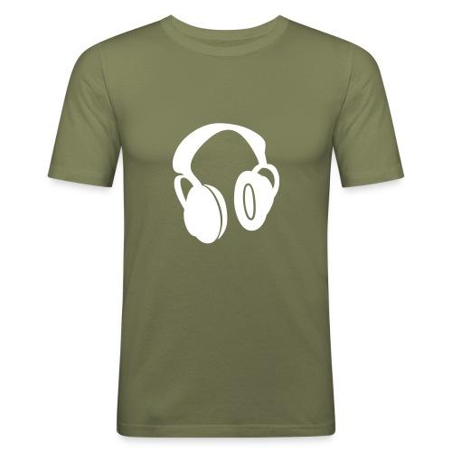 Headphones2 - Men's Slim Fit T-Shirt